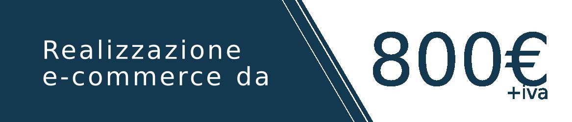Realizzazione e-commerce a partire da 800€
